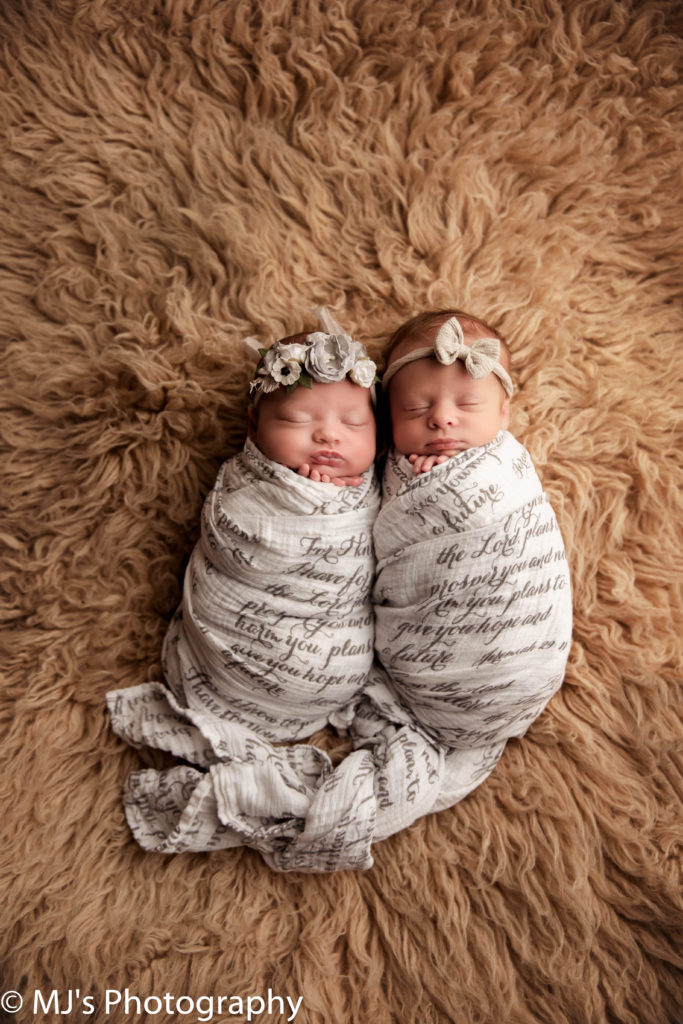 fulshear twin newborn photographer