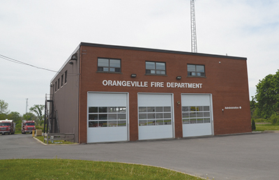 Much of Town Council feel it's a priority for the municipality to find funding for a new hall and eight additional firefighters for the Orangevile Fire Department.