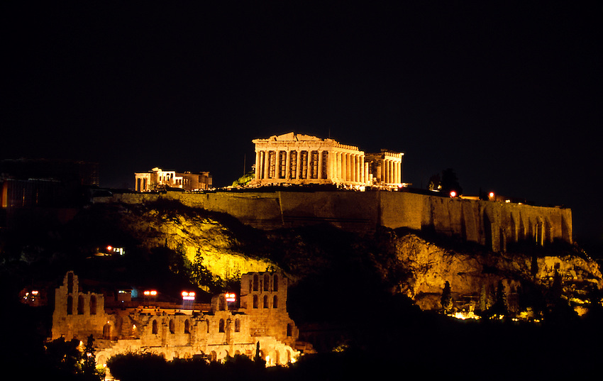 Athens: Philosophy, politics, history, theater and rebellion