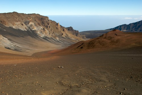 Haleakala Crater Ledge
