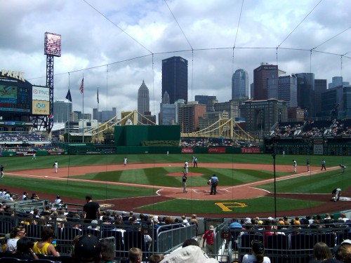PNC Park, View from Home Plate