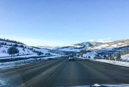 I think this was on the way home from Copper.