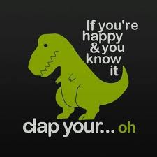 If You're Happy And You Know It, Clap Your Hands.