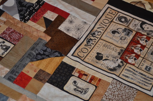 communique quilt progress