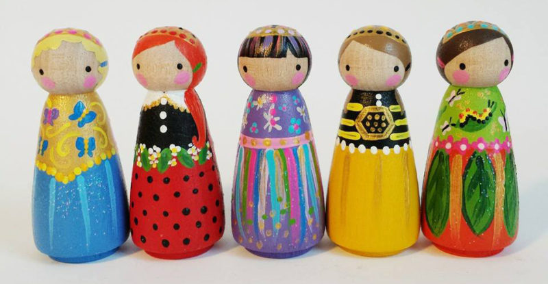 peg&plum peg dolls