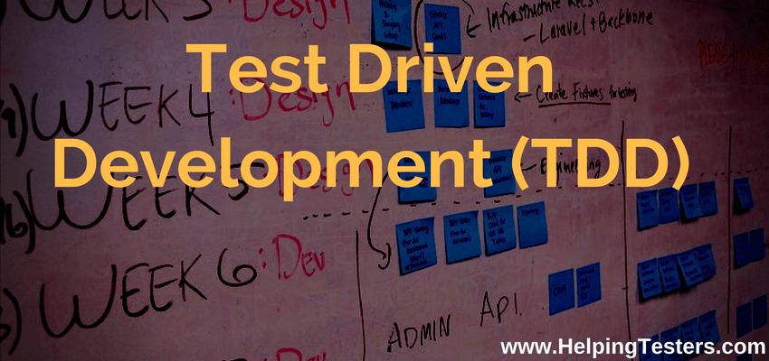 test driver development, TDD, BDD, test driver development example