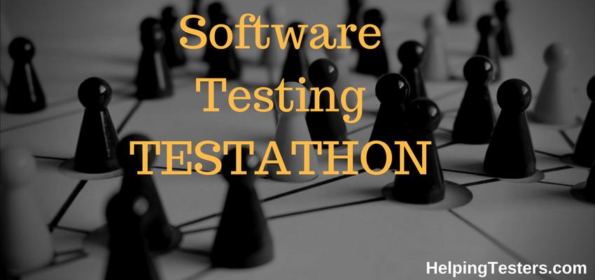 Testathon. Testathon India, Testathon Ideas, What is Testathon