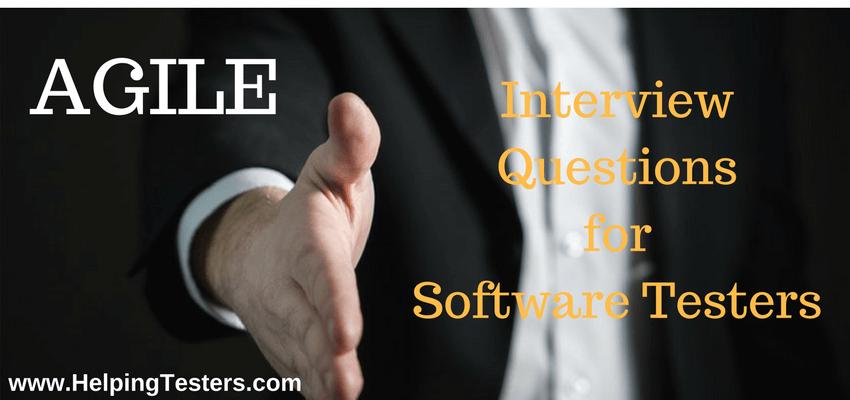 Agile, Agile Interview Questions, Agile methodology
