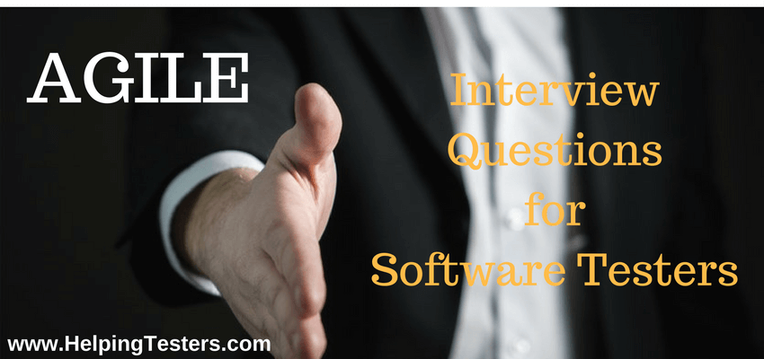 Agile, Agile Interview Questions, Agile methodology