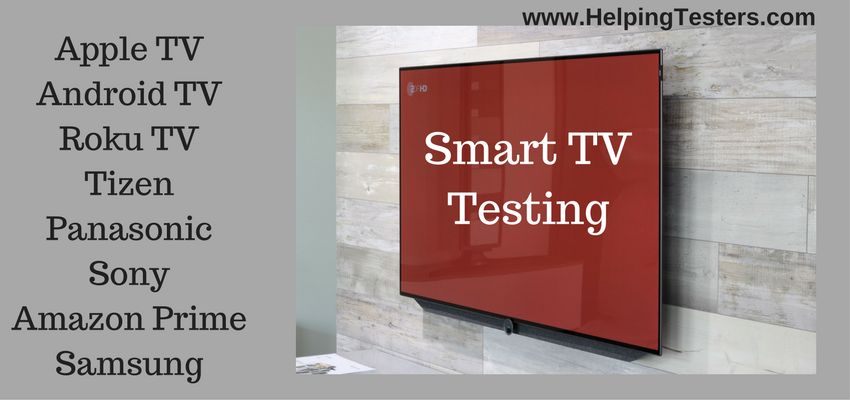 Smart TV Testing