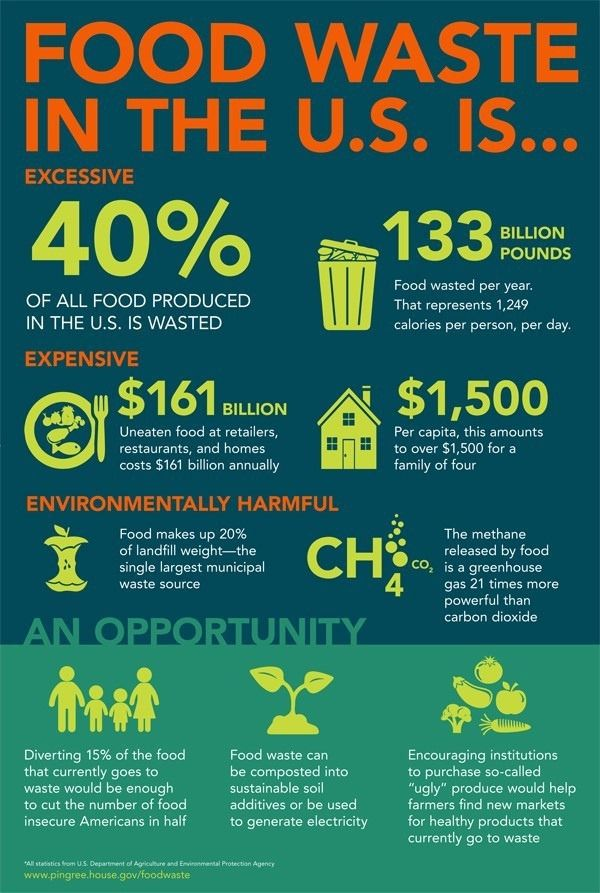 Food Waste in the U.S. is… 600 x 893