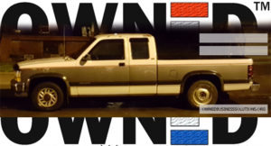OWNED truck card