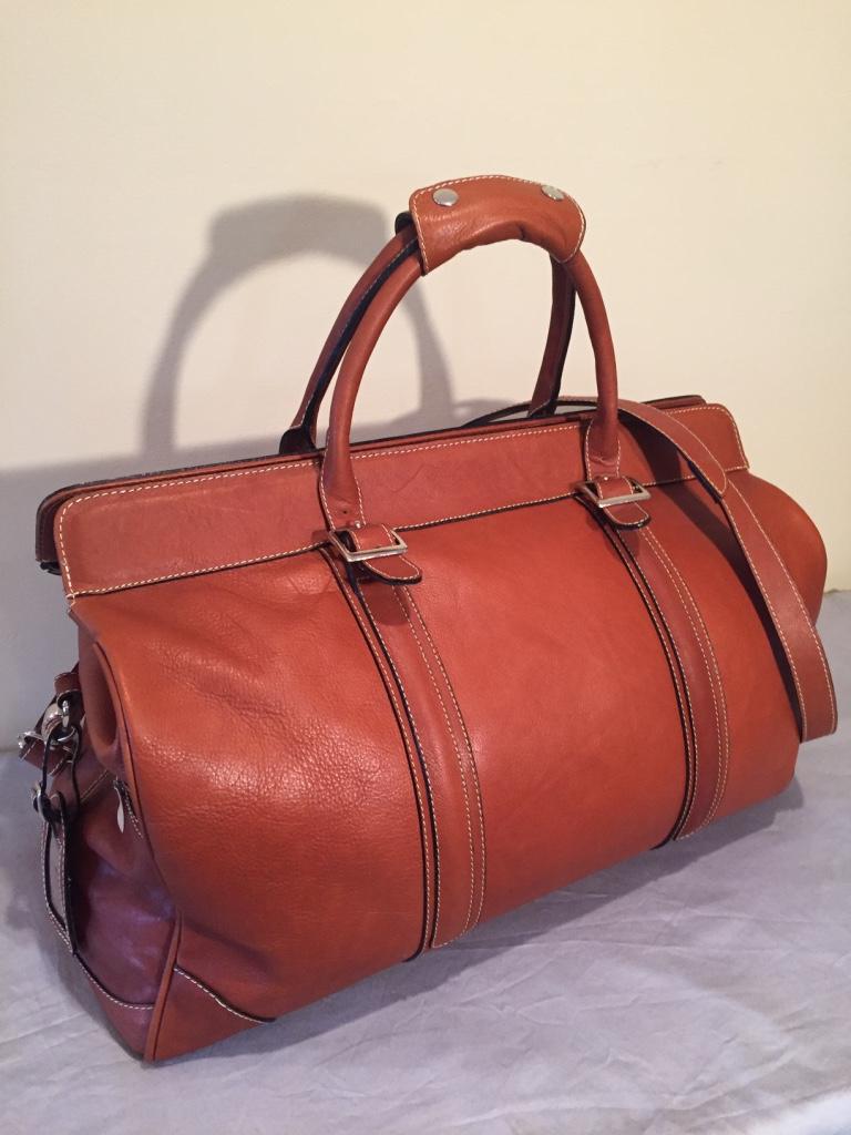 Leather Travel Bag 1