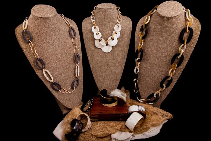 Fair Trade Horn Jewelry