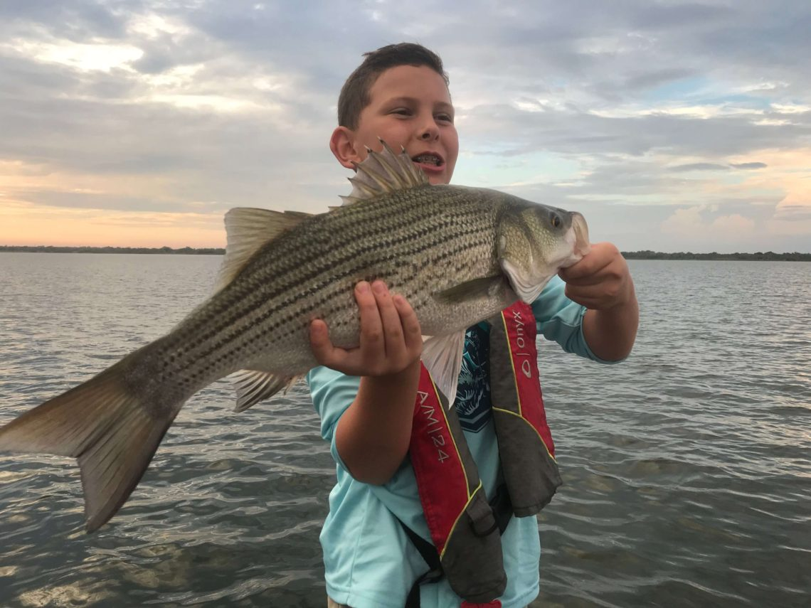 Kids Fishing in Lewisville, Dallas, DFW, North Texas
