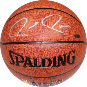 Paul Pierce signed basketball for sale at Steiner Sports. Photo courtesy of Steiner Sports.