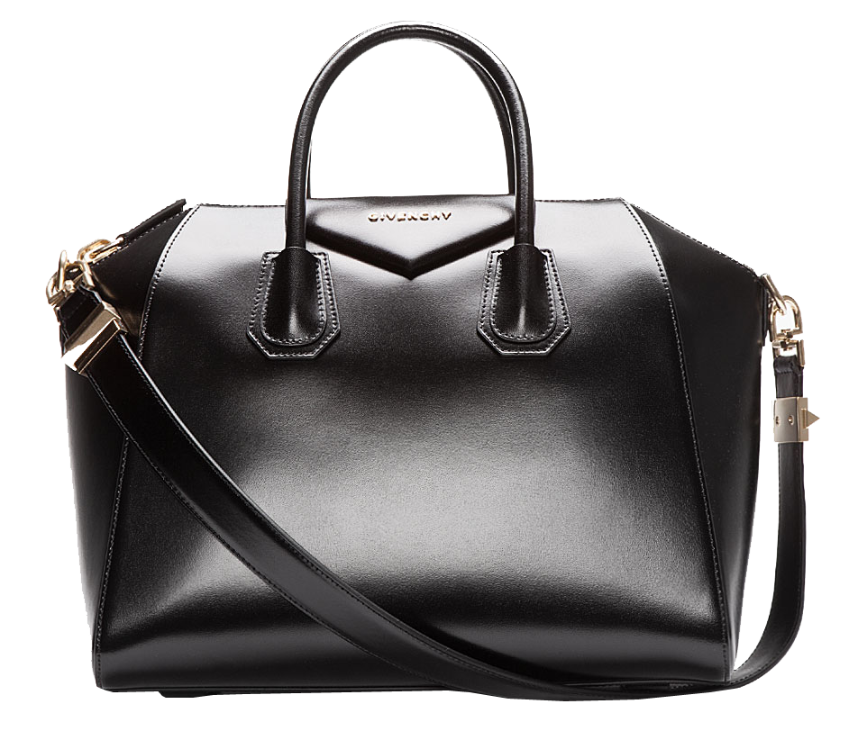 givenchy-black-buffed-leather-medium-antigona-duffle-bag
