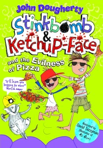 Stinkbomb and KetchupFace Book 3