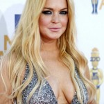 Lindsay Lohan after plastic surgery
