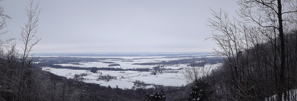Overlooking the Ottawa Valley