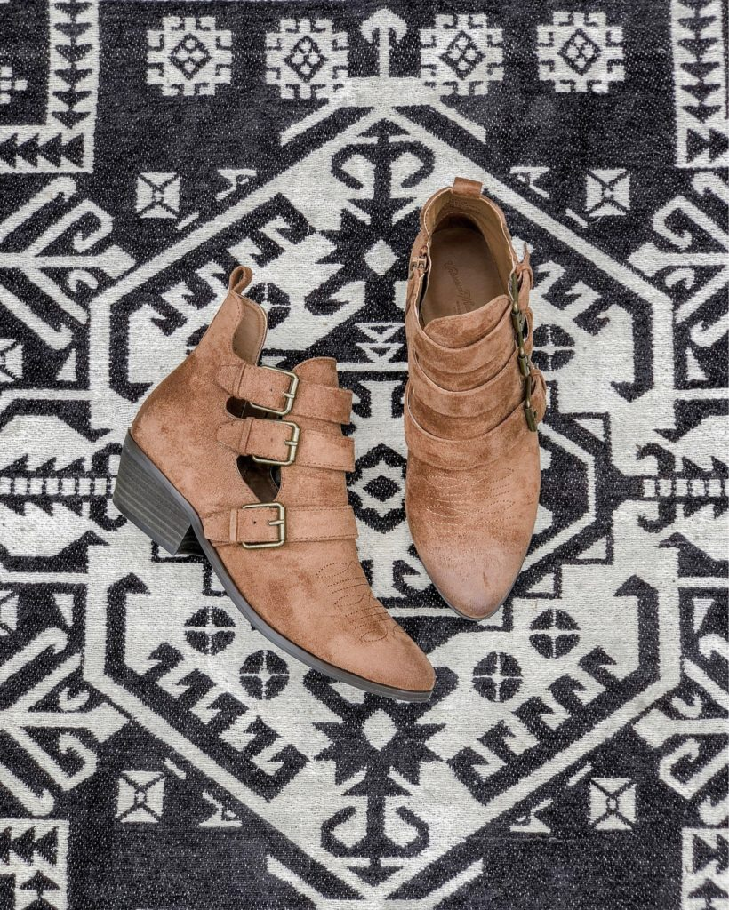 Target-Affordable-Brown-Ankle-Bootie