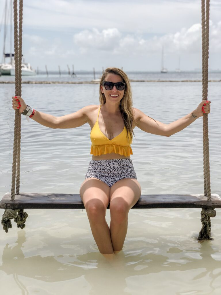 Isla Mujeres Bathing Suit for Moms