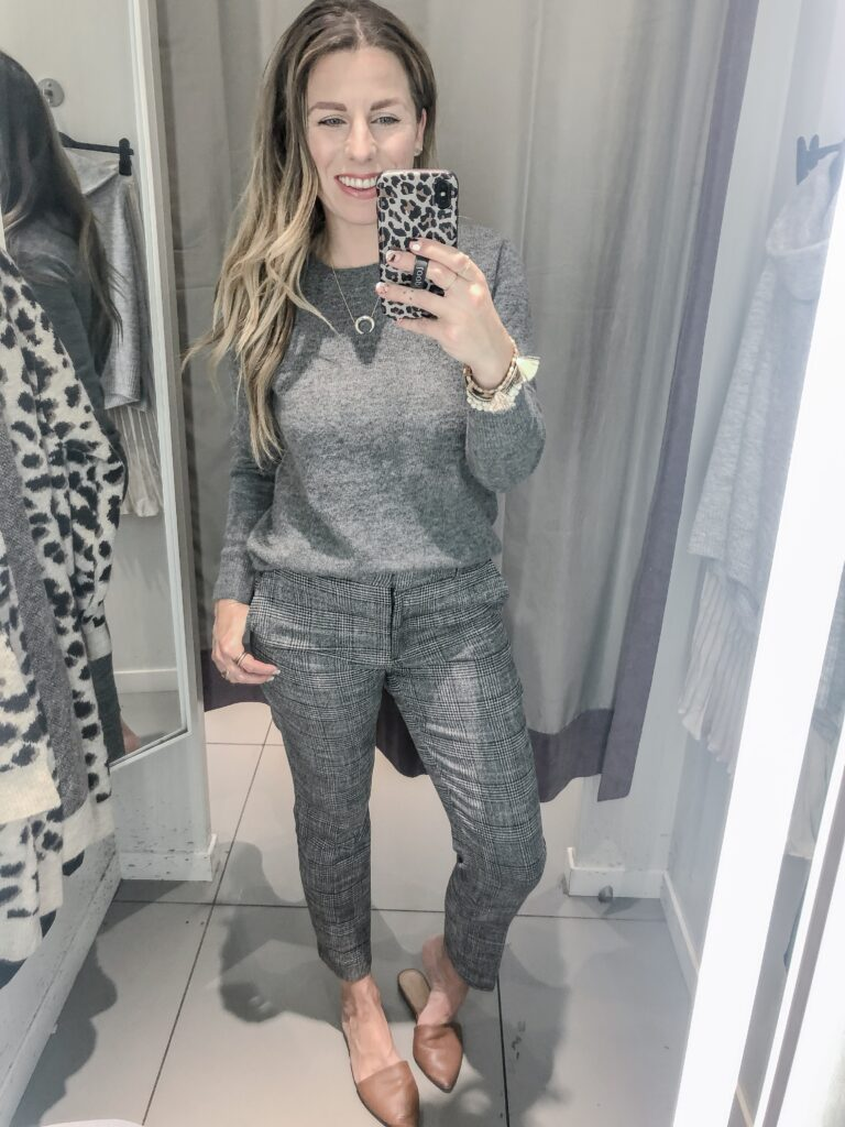 H&M 2019 Fall Collection Plaid Pants