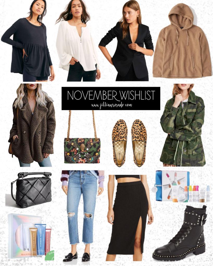 November Wishlist