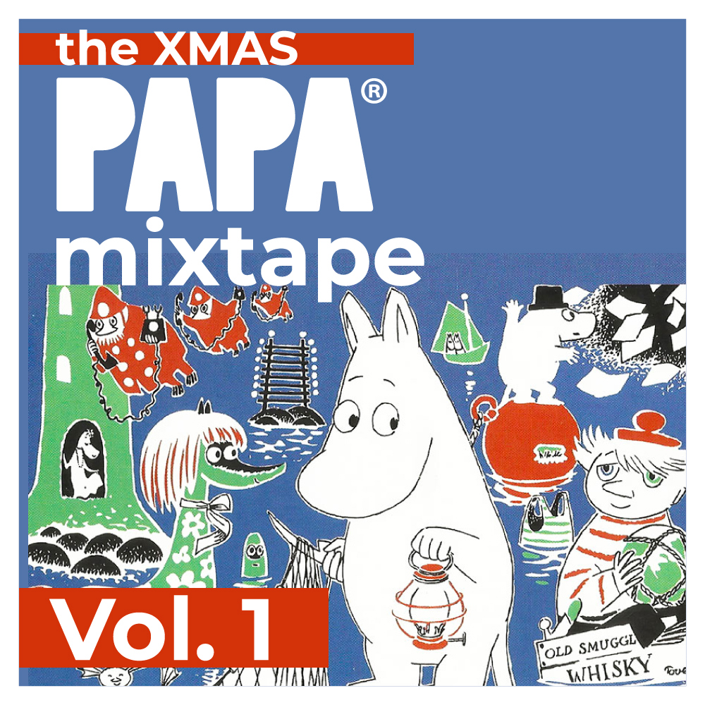 the Xmas PAPAMIXTAPE Vol.1