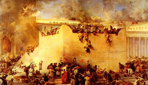 """The first """"abomination of desolation"""" occurred when Jerusalem was destroyed by the Romans in 70 A.D."""