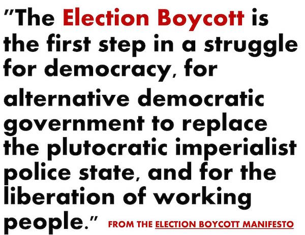 election-boycott-purpose-image