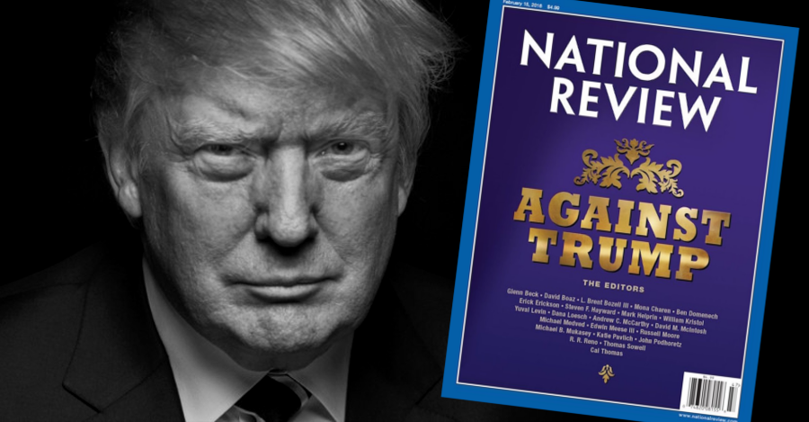 """""""So goes the clarion call of longtime conservative and Washington Times columnist Charles Hurt as he eviscerates the motives of National Review following that magazine's all out declaration of war against current GOP frontrunner, Donald Trump."""""""