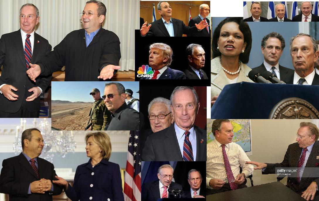 Bloomberg operates at the very nexus of the NWO ruling elites.