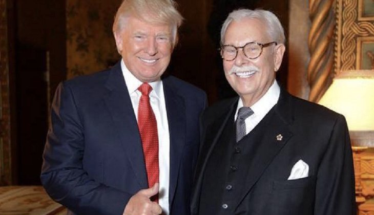 """Just a short note to you on our pus headed 'president' !!!! This character who I refer to as zero (0) should have been taken out by our military and shot as an enemy agent in his first term !!!!! Instead he still remains in office doing every thing he can to gut the America we all know and love !!!!!"" Donald Trump's longtime butler Anthony Senecal wrote on Facebook. (Photo from the Facebook page of Anthony Senecal)"