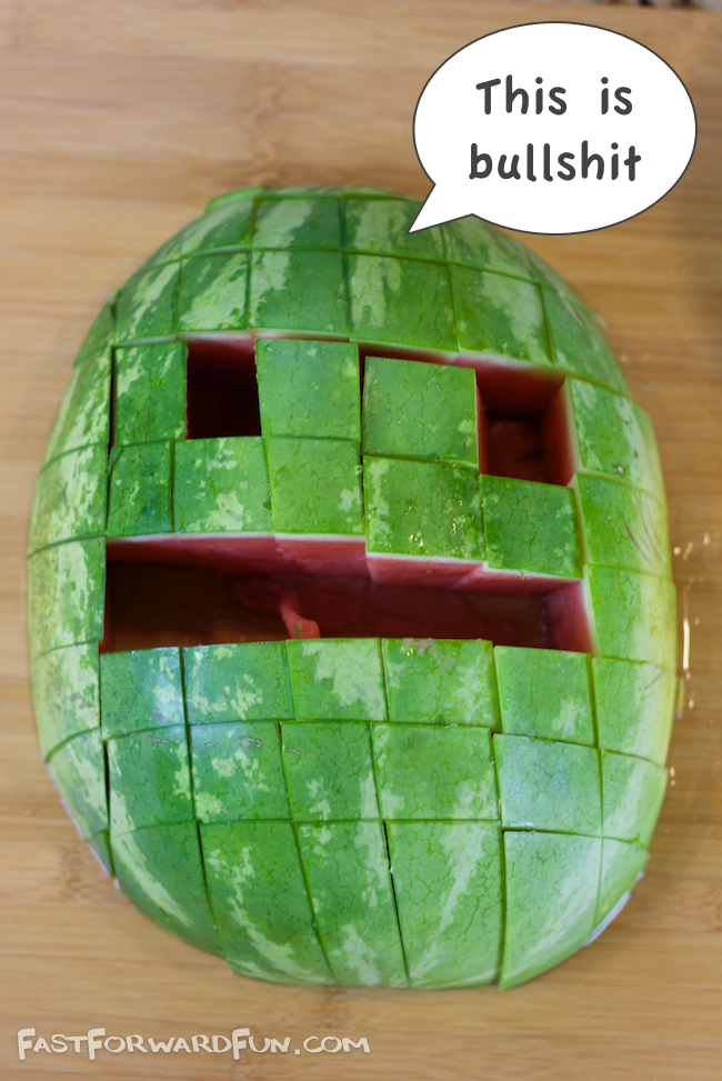 The best way to cut a watermelon for a party or picnic!