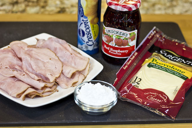 Monte Cristo Roll-Up Ingredients