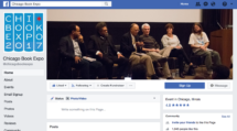 Chicago Book Expo Facebook Banner, ft Lasagna Kazembe, Cornel West, Haki Madhubuti, Lance Selfa, Nancy MacLean, and Chicago Book Expo co-organizer John K. Wilson. 2017