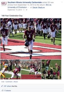 SIU - Facebook Album (Football Game)