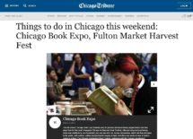 Chicago Tribune - Chicago Book Expo 2017