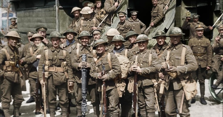 They Shall Not Grow Old | dir. Peter Jackson, 100th Anniversary of WWI armistice