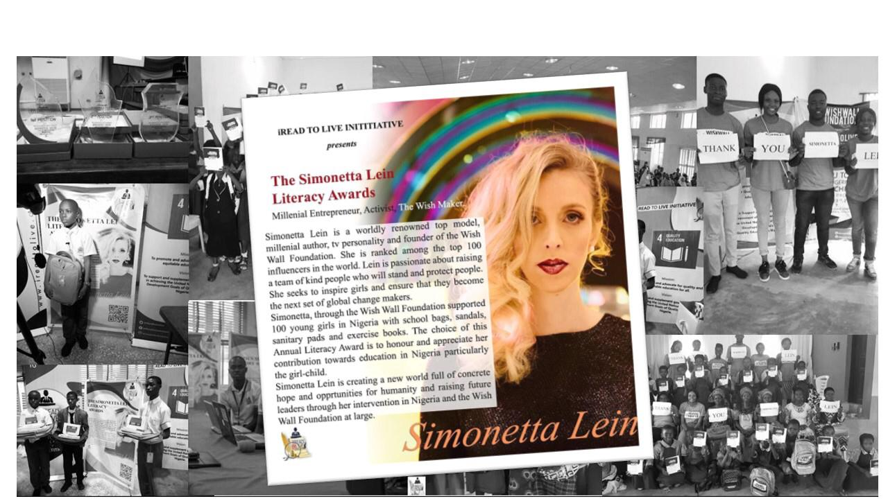 Simonetta Lein Literacy Award For Children In Nigeria
