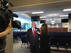 Terry Nall TV interview