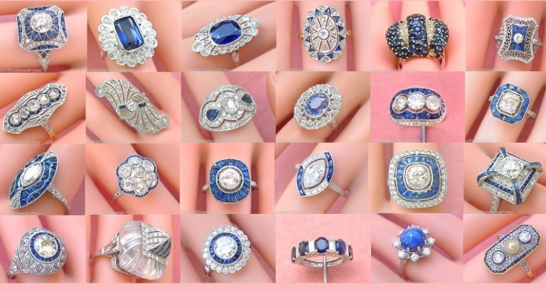 Gorgeous Estate and Vintage Sapphire Rings