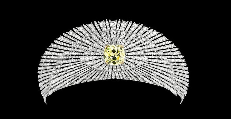 Sun Tiara circa 1907 made by Cartier