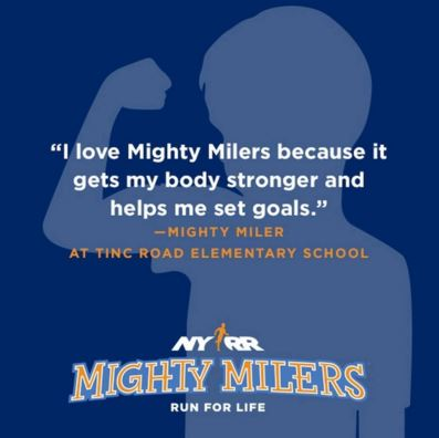 Team for Kids Mighty Milers