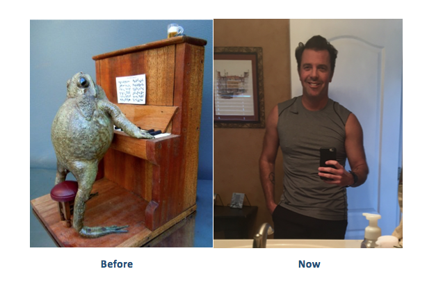 Perry Sasnett Before and After