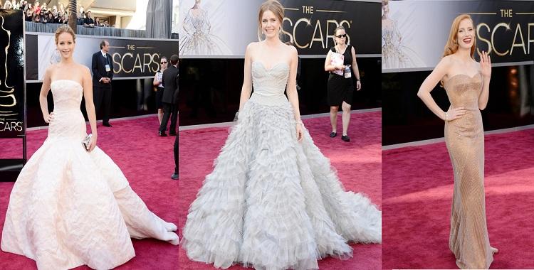 85. Oscar Töreninin En Güzel Elbiseleri