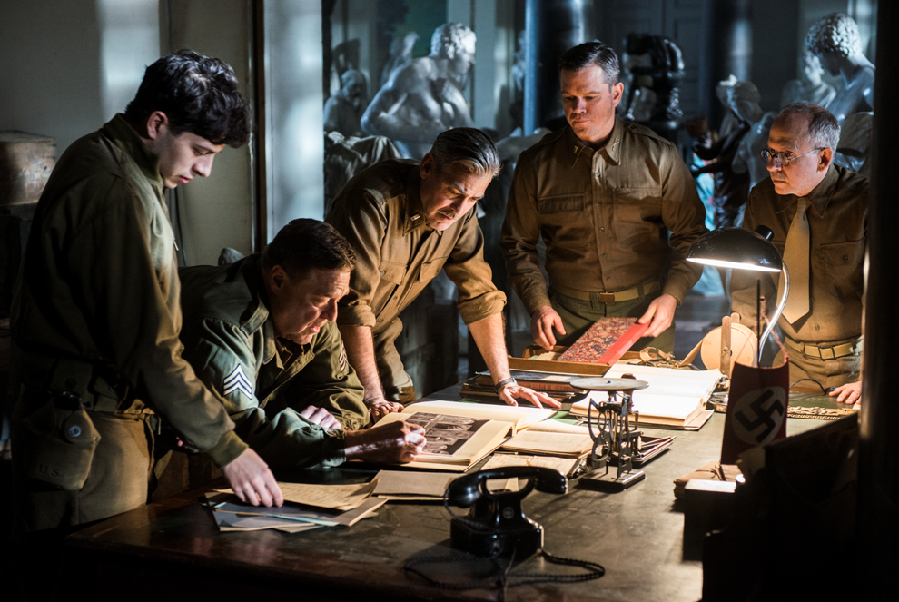 Efsane Avcıları / The Monuments Men filminden ilk kareler yayınlandı