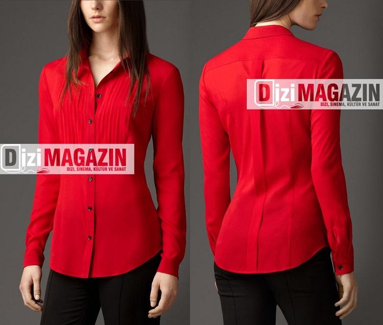 İntikam Kırmızı Yağmur ( Beren Saat ) Gömleği Burberry