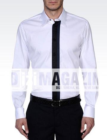 İntikam Hakan Kıyafetleri - Armani Gömlek